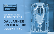 Buy Gallagher Home Insurance and get Final Tickets