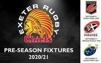 Chiefs confirm pre-season fixture list