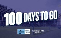 Just 100 days to go until the Gallagher Premiership Rugby Final 2020
