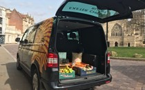 Sandy Park donates food to homeless