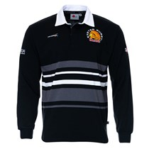 L/S Black/Grey Rugby Jersey