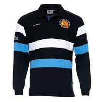 L/S Black/Sky Rugby Jersey