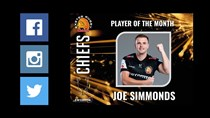 Player of the Month Exeter Chiefs