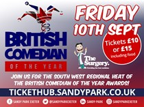 British Comedian of the Year in Exeter