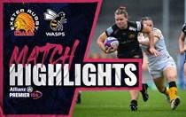 HIGHLIGHTS: Chiefs Women v Wasps Women
