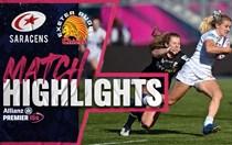 HIGHLIGHTS: Saracens Women v Chiefs Women