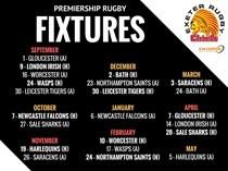 New Premiership fixtures confirmed