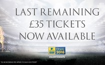 Final £35 tickets left for Aviva Premiership Rugby Final