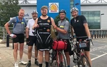 Pedal power for charity